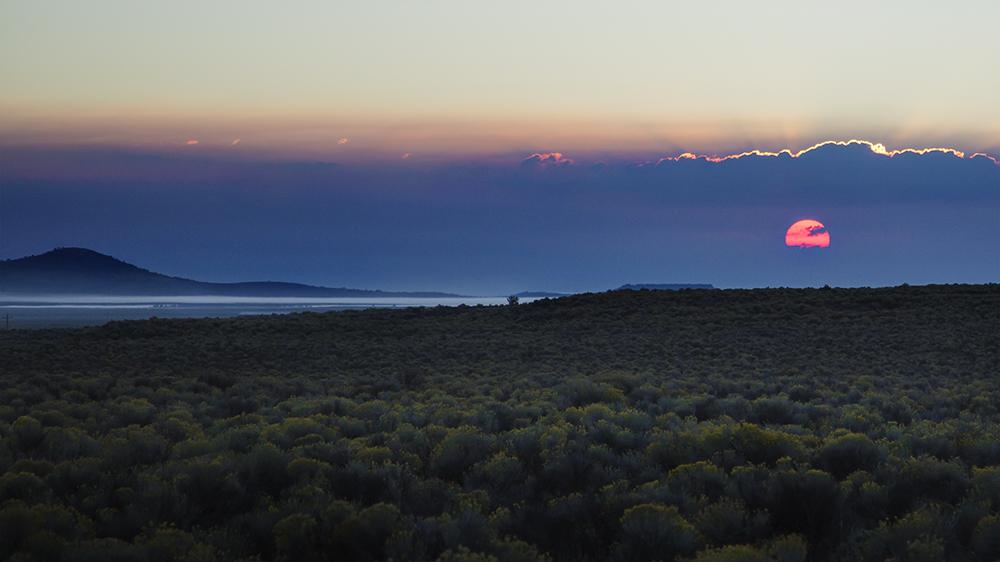FortRock sunrise