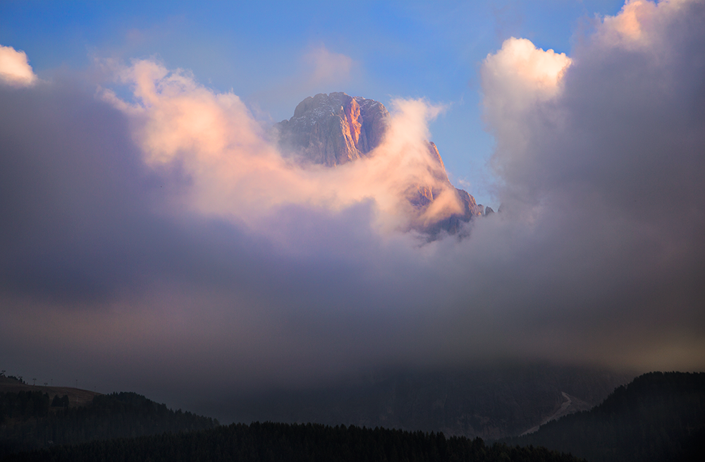 Cloudy-peak
